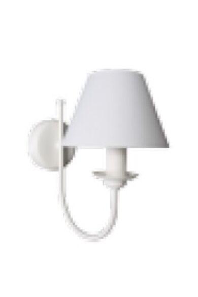 Lámpa, oldalfali, Bona K-1, fehér