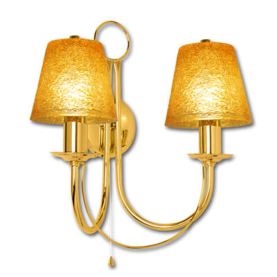 Lámpa, oldalfali, Retro Art K-2, arany