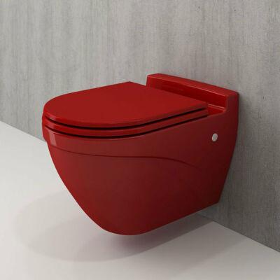 Taormina fali WC, piros