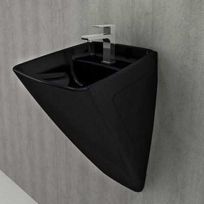 Firenze fali mosdó, fekete