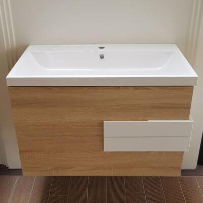 Fürdőszoba szekrény mosdóval 12.2023D.30.080