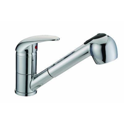 Dauphin kihúzhatófejes zuhanymosogató csaptelep