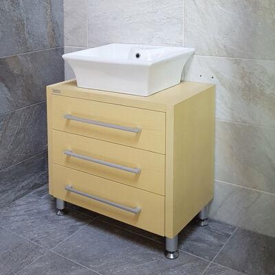 3 fiókos fürdőszoba szekrény SPRING-SZ