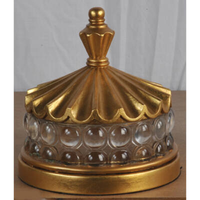 Arany ékszeres doboz