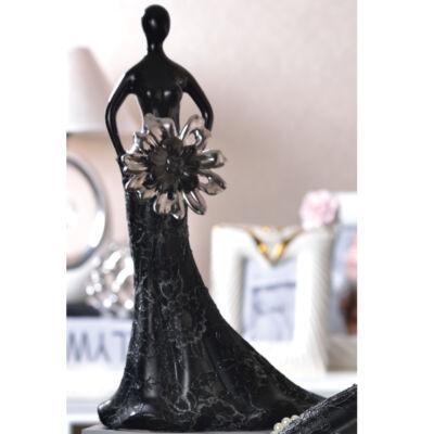 Fekete ezüst miniszobor